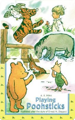 Playing Poohsticks  by  A.A. Milne