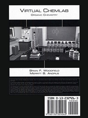 Virtual Chemlab, Organic Chemistry, Instructor Site License CD, V2.5  by  Brian F. Woodfield