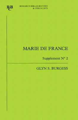 Marie De France: An Analytical Bibliography Glyn S. Burgess