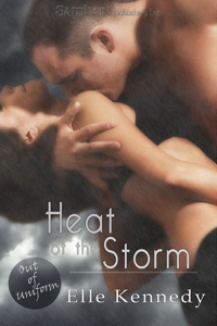 Heat of the Storm (Out of Uniform, #3)  by  Elle Kennedy