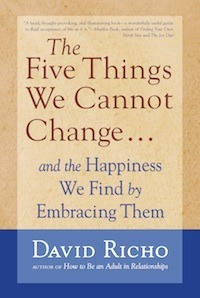 The Five Things We Cannot Change: And The Happiness We Find By Embracing Them  by  David Richo