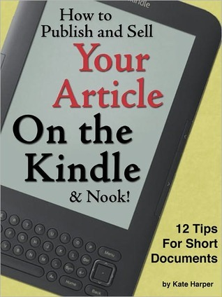 How to Add a Table of Contents to a Kindle or Nook Book Kate  Harper