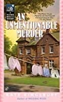 An Unmentionable Murder  (Manor House Mystery, #9)