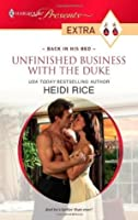 Unfinished Business with the Duke (Presents Extra)