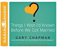 Things I Wish I'd Known Before We Got Married (Library Edition)