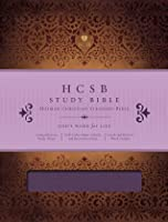 HCSB Study Bible, Mulberry LeatherTouch