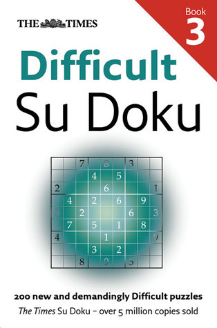 Times Difficult Su Doku Book 3  by  Sudoku Syndication