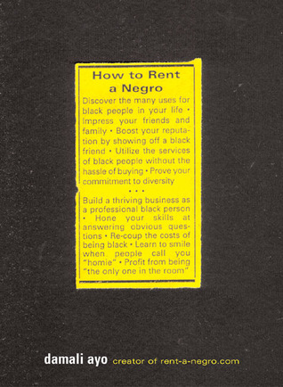 How to Rent a Negro  by  damali ayo