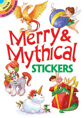 STICKERS:   Merry and Mythical Stickers  by  NOT A BOOK