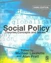Social Policy: Theories, Concepts and Issues Michael Lavalette