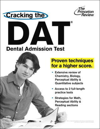 Cracking the DAT Princeton Review