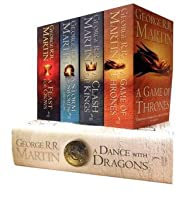 A Song of Ice and Fire - A Game of Thrones, A Clash of Kings, A Storm of Swords, A Feast for Crows, A Dance with Dragons  (A Song of Ice and Fire, #1-5)