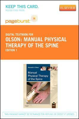 Manual Physical Therapy of the Spine - Elsevier E-Book on Vitalsource  by  Kenneth A. Olson