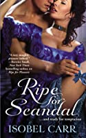 Ripe for Scandal (The League of Second Sons, #2)