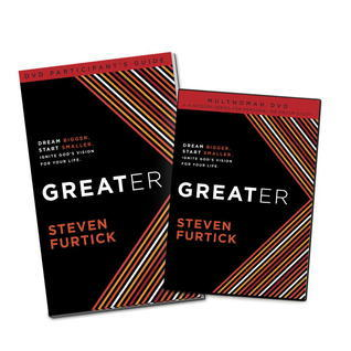 Greater Participants Guide with DVD Steven Furtick
