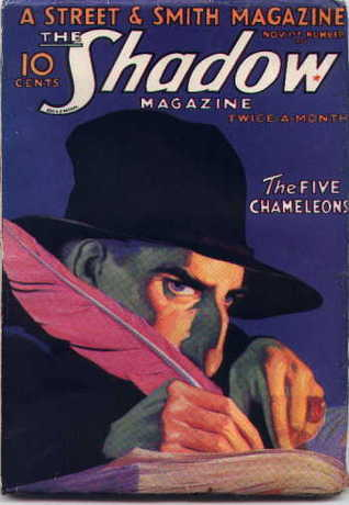 The Five Chameleons (The Shadow #17) Walter B. Gibson
