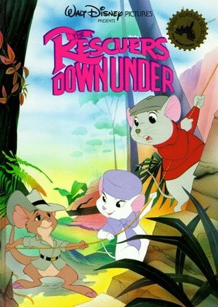 The Rescuers Down Under (Oversized Picture Book) Walt Disney Company