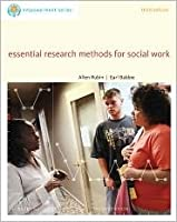 Essential Research Methods for Social Work (third edition)