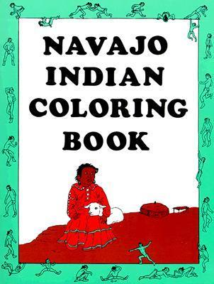 Navajo Indian Coloring Book Connie Asch