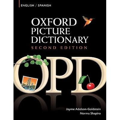 Oxford picture dictionary english spanish ingles espanol by jayme
