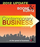 Contemporary Business: 2012 Update