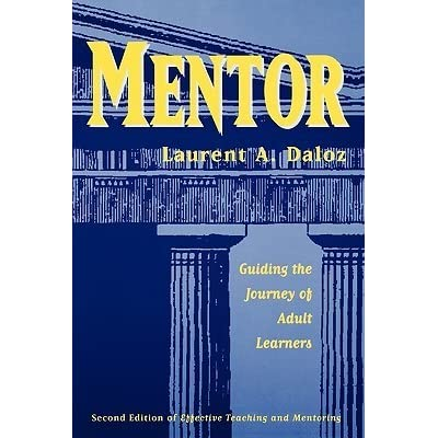 Mentor guiding the journey of adult learner