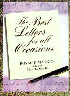 Great Letters for Every Occasion Rosalie Maggio