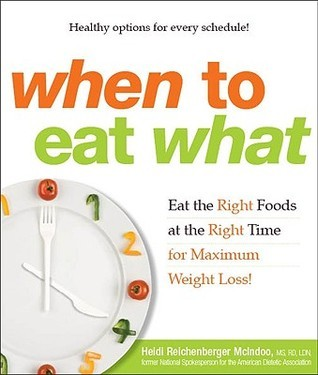 When to Eat What: Eat the Right Foods at the Right Time for Maximum Weight Loss!  by  Heidi Reichenberger McIndoo