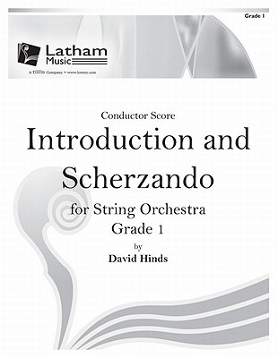 Introduction and Scherzando for String Orchestra - Score  by  David Hinds