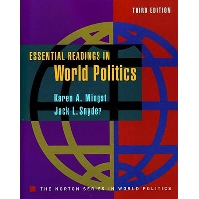 """a review of karen mingsts essentials of international relations Essentials of international relations, chapter 4 o hedley bull,  evaluation of the balance of power"""", essential readings • lecture 7 may 29 - the state in a globalizing world readings: o karen mingst, essentials of international relations,  review of international political economy 4 no3."""