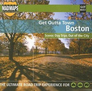 Get Outta Town: Boston Laminated Map  by  Mad Maps