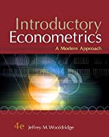 Introductory Econometrics: A Modern Approach (with Economic Applications, Data Sets, Student Solutions Manual Printed Access Card)