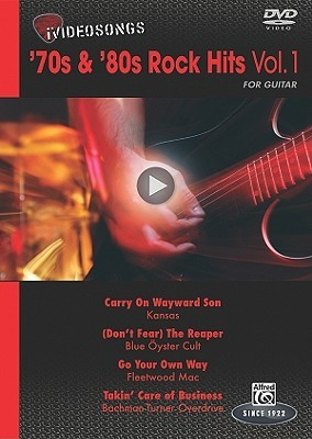 iVideosongs: 70s & 80s Rock Hits for Guitar, Volume 1 Alfred A. Knopf Publishing Company, Inc.