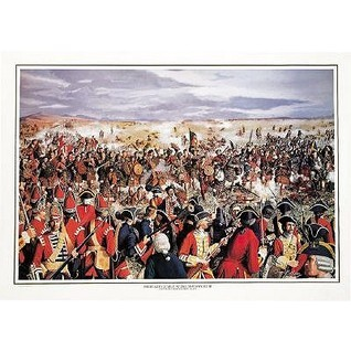 The Highland Charge at Drummossie Muir: Battle of Culloden, April 16, 1746  by  Neal Madison James