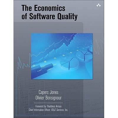 The Economics of Software Quality - Capers Jones, Olivier Bonsignour, Jitendra Subramanyam
