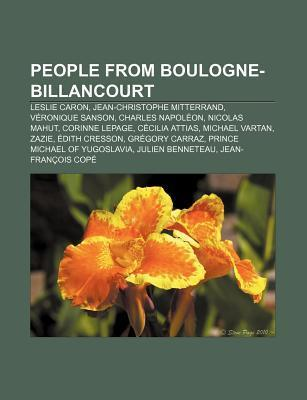 People from Boulogne-Billancourt: Leslie Caron, Jean-Christophe Mitterrand, V Ronique Sanson, Charles Napol On, Nicolas Mahut, Corinne Lepage  by  Source Wikipedia