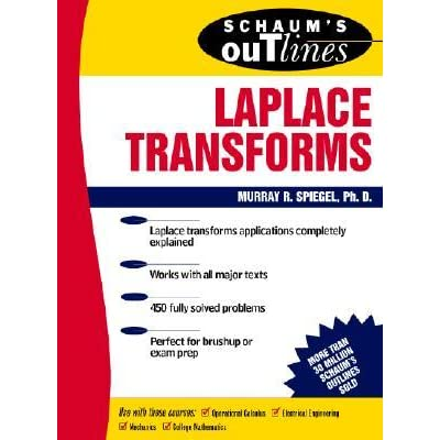 Schaum's Outline of Laplace Transforms - Murray R. Spiegel