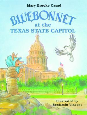 Bluebonnet at the Texas State Capitol  by  Mary Brooke Casad