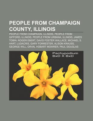 People From Champaign County, Illinois: David Foster Wallace Books LLC
