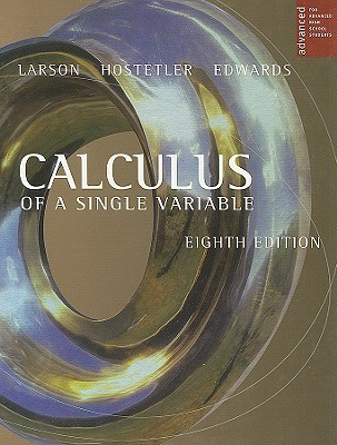 Calculus Of A Single Variable For Advanced High School Students, 8th Edition Ron Larson