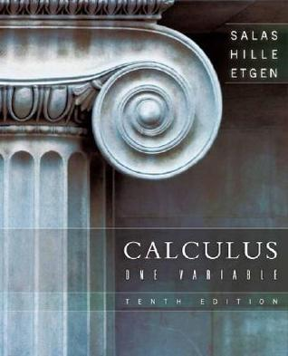 Salas: Calculus   One And Several Variables 5ed  by  Saturnino L. Salas