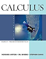 Calculus Early Transcendentals