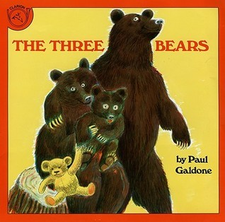 Three Bears Paul Galdone