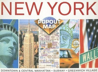 New York, New York Popout  by  Compass Maps