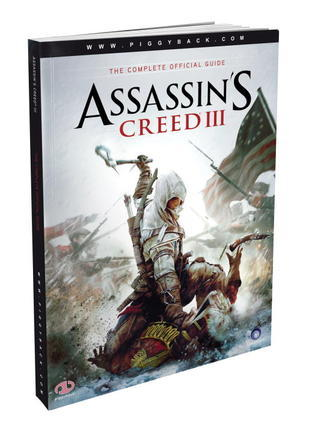Assassins Creed III - The Complete Official Guide Piggyback