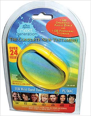 Word of Promise Next Generation - New Testament: Dramatized Audio Bible on USB Bracelet  by  Anonymous