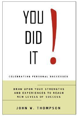 You Did It  by  John Thompson