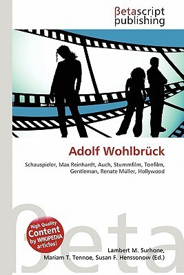 Adolf Wohlbruck  by  NOT A BOOK