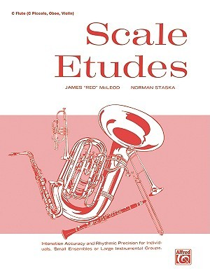 Scale Etudes: C Flute  by  James McLeod
