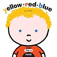 Baby Flip-a-Face: Yellow Red Blue